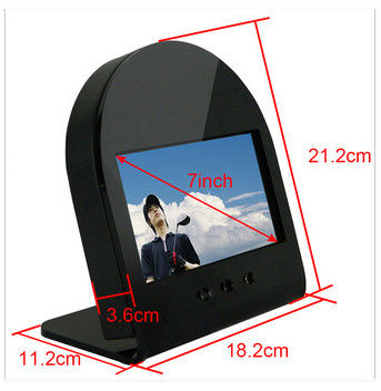 7 Inch 2500cd/m2 High Brightness LCD Display Monitor Support Button Control