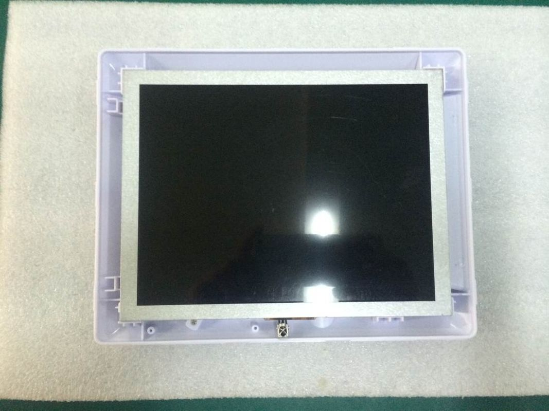 "8"" Video / Audio / Photo White Open Frame LCD Monitor Display With Calender / Clock"