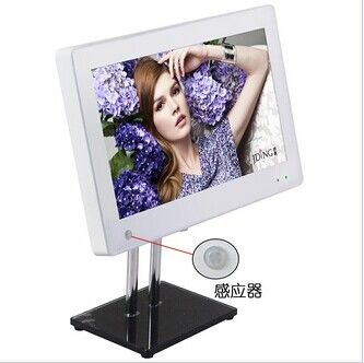15.6 Inch Foot Stand Wall Mount Digital Photo Frame With Clock And Calendar