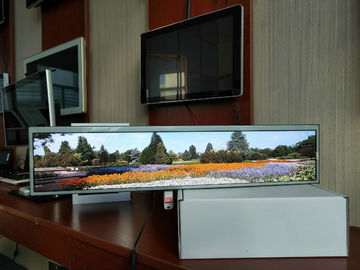 Ultra-szeroki naścienny Digital Signage 24-calowy Full HD 250-350 Nits High Brightness